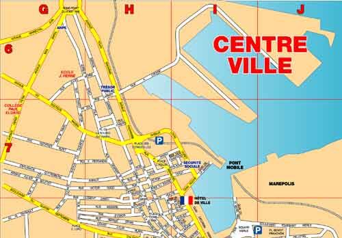 Plan De Ville De La Seyne Sur Mer
