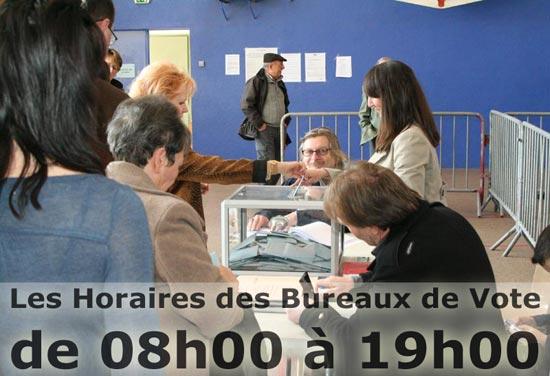Les horaires des bureaux de vote à la seyne sur mer laseyne